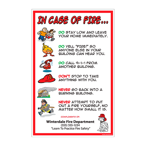 In Case Of Fire Poster