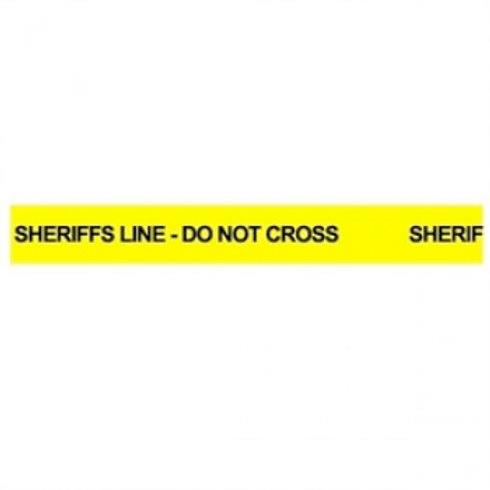Sheriff's Line Tape