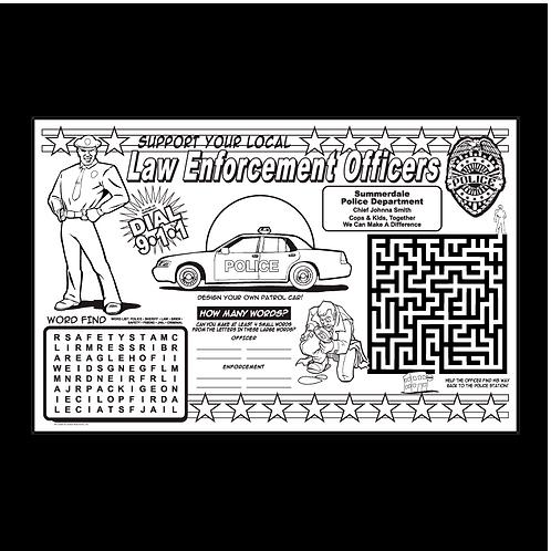 Law Enforcement Activity Poster