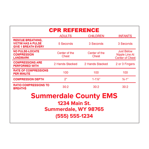 CPR Reference Magnet