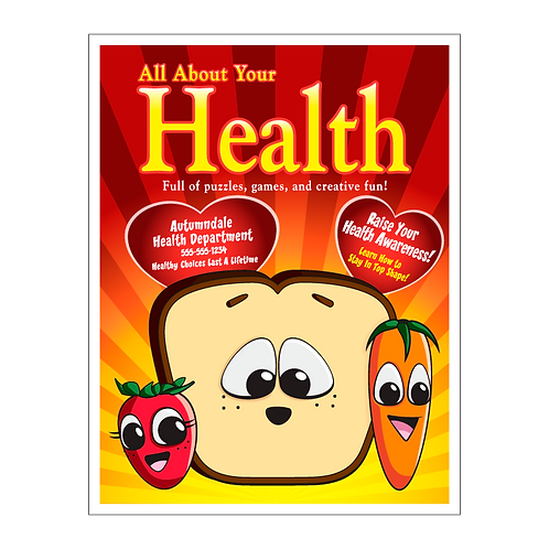All About Your Health Coloring Book