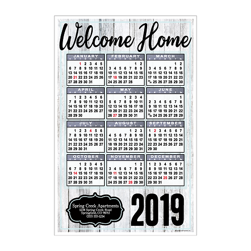 Farmhouse Wall Calendar