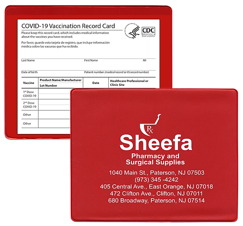 COVID-19 Vaccination Card Holder