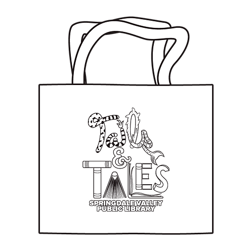 Tails & Tails Coloring Tote - Tails & Books