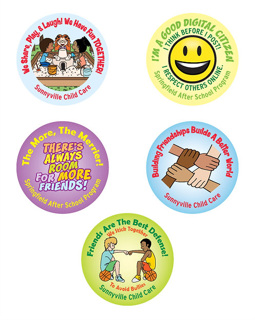 Be A Friend Assorted Stickers