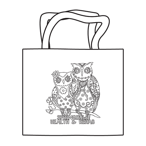 Adult Coloring Tote