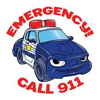 Emergency! Call 911 Tattoo