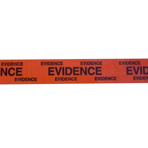"""1"""" Red Evidence Tape"""
