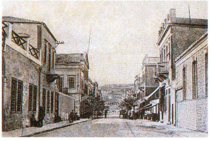 Οδός Μανδηλαρά, 1910, Δεξιά, νηματουργεί