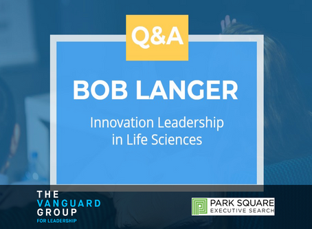 Turning Ideas Into Execution. Q&A with Bob Langer