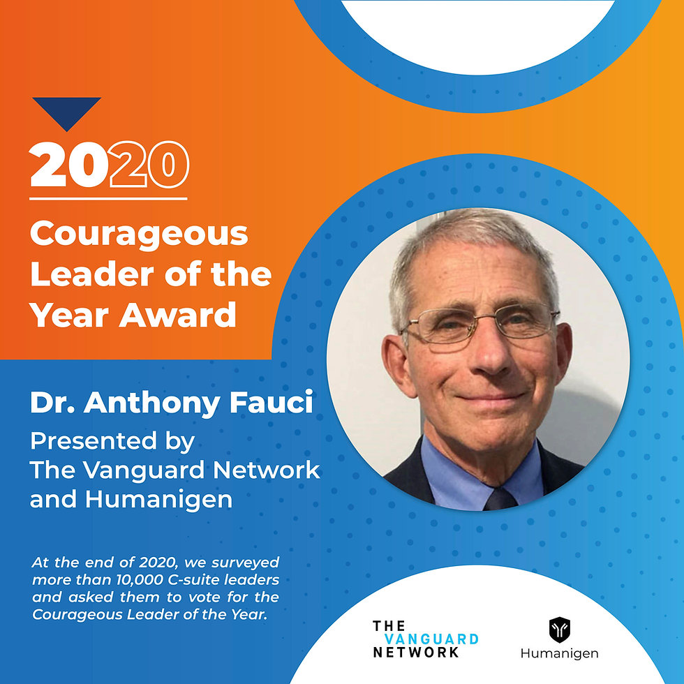 Anthony Fauci Award 2020