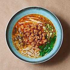 Stewed Pork Belly Rice Noodle