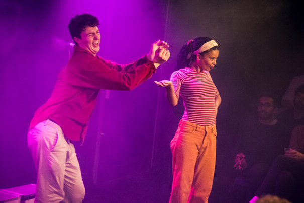 Production image from 'Murder on the Dancefloor'