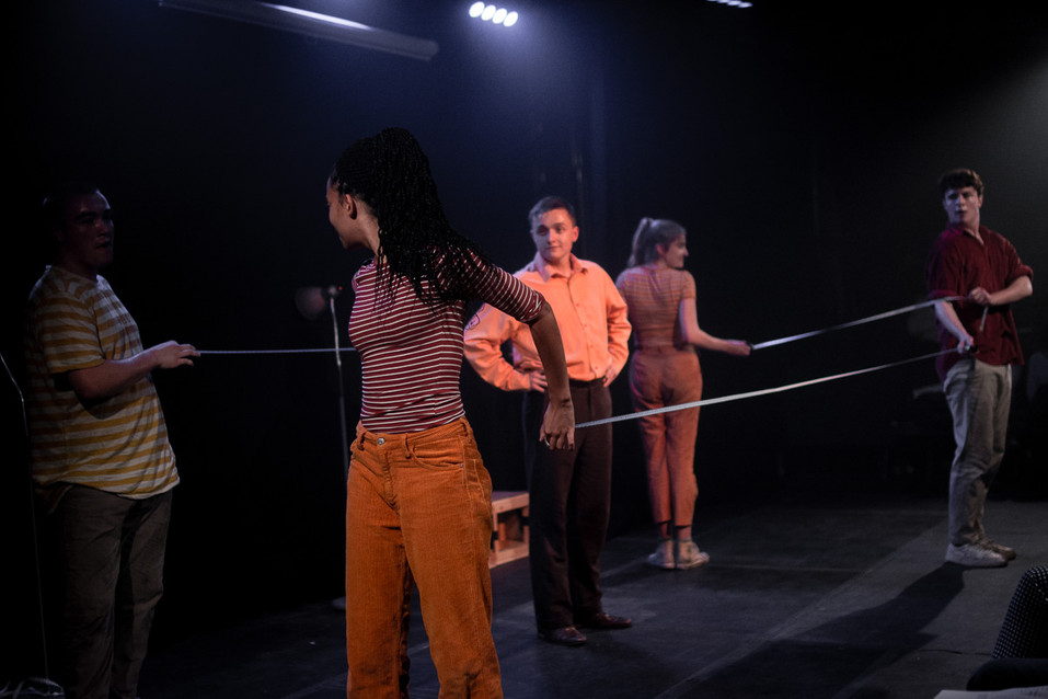 Production photo from 'Murder on the Dancefloor'