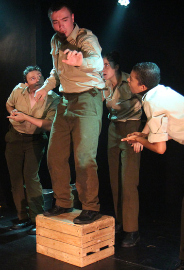 Production image from 'Woyzeck'