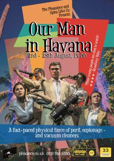 'Our Man in Havana' Edinburgh 2017 poster