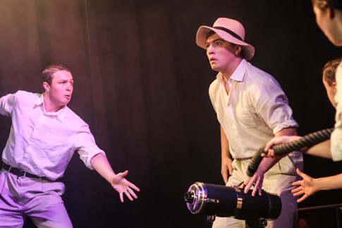 Production photo from 'Our Man in Havana'