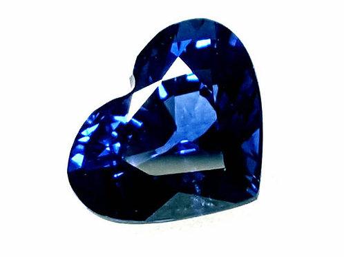 1.55 CT Natural Royal Blue Sapphire from Sri Lanka