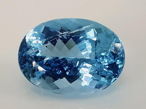 17.68 carat Santa Maria Aquamarine from Brazil