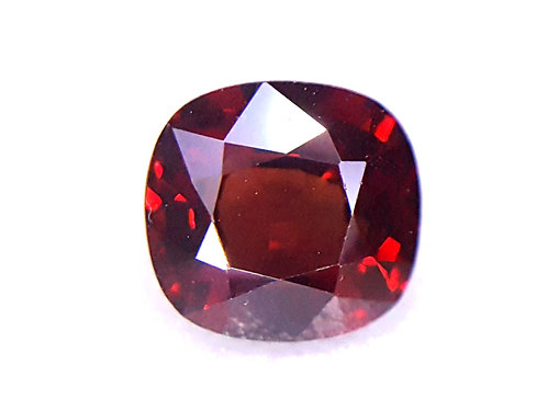 Natural Red Spinel from Tanzania great cut.