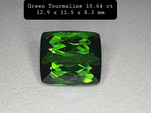 10.64 carat Natural Green Tourmaline from Brazil