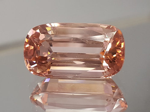 11.42 ct Natural orangish pink Tourmaline