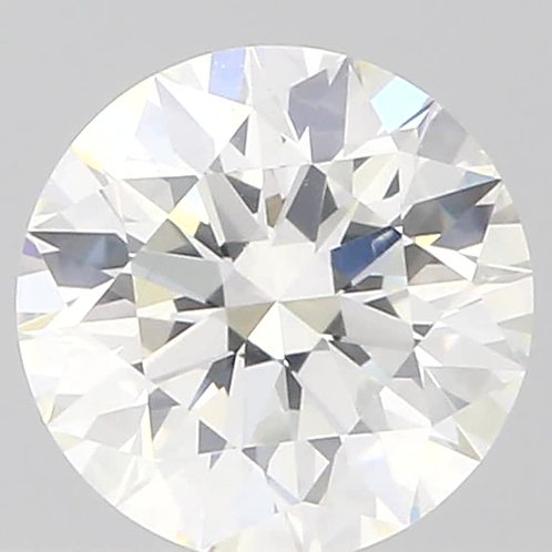 0.53 CT, H Color, GIA CERTIFIED DIAMOND SOLITAIRE, H COLOR, SI1, 3EX
