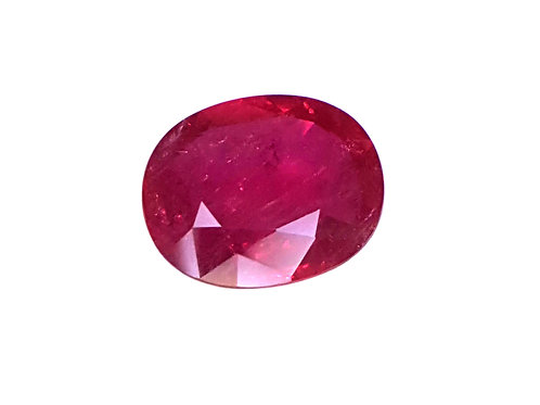 Striking 3.08 carat Natural Ruby from mozambique