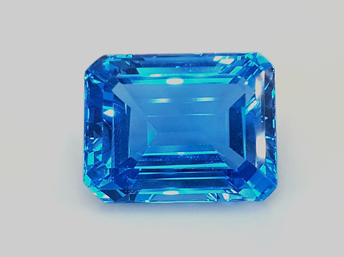 US $10/CT, 40 ct Natural Blue Topaz from Brazil