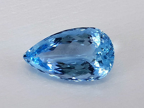 16.07 ct Natural Aquamarine from Brazil