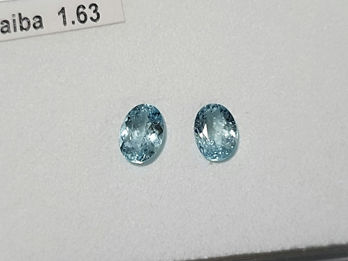 1.63 carats Paraiba Tourmaline Pair from Mozambique
