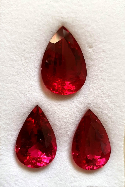 US $350 /CT, 24.82 carats Rubellite Tourmaline