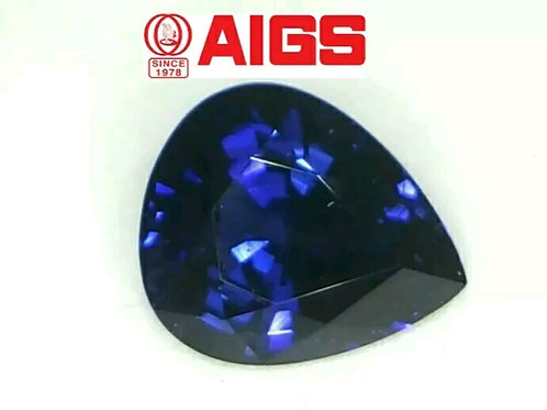 AIGS CERTIFIED COLO4 CHANGE SAPPHIRE