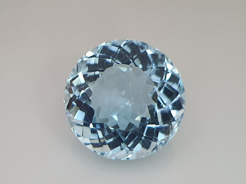 8.16 carat Natural Aquamarine cushion gemstone from Brazil