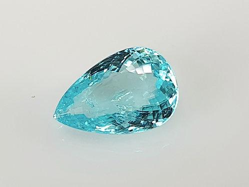 US $3500 P/C, 2.74 Ct Natural Paraiba Tourmaline neon blue 11 x 7 mm from Mozam