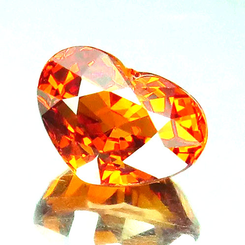 Natural Spessartine garnet VVS clarity gem! from Namibia