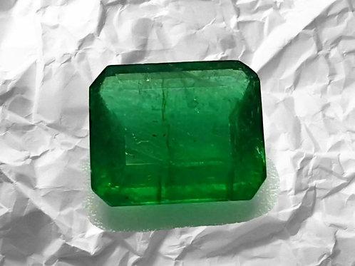 US$ 500 P/C, 3.05ct Natural Emerald (Panna) vivid green transparent only oiled