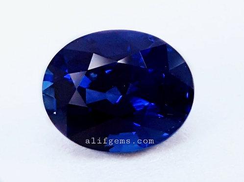 US$1500 P/C, 2.36 carat Ceylon Royal Blue Sapphire Sri Lanka Heat onl