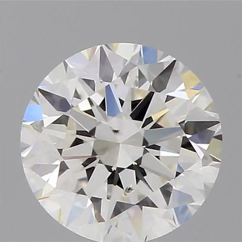 0.70 H COLOR, SI1 GIA CERTIFIED DIAMOND SOLITAIRE
