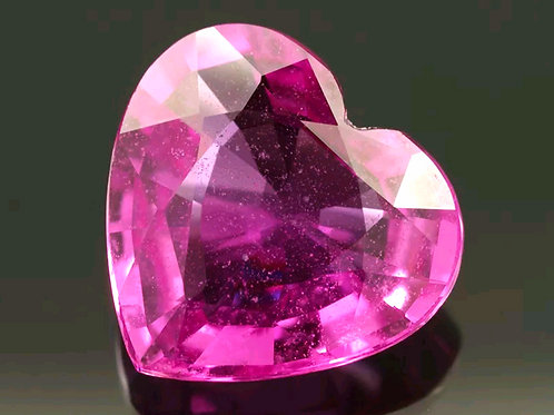 1.24 CT Natural Pink Sapphire