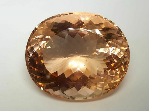 302 ct Natural Morganite no heat from Afghanistan