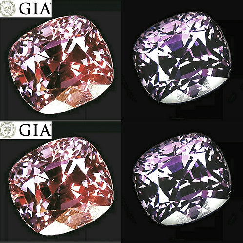 8.41 ct GIA certified Spinel  colour change