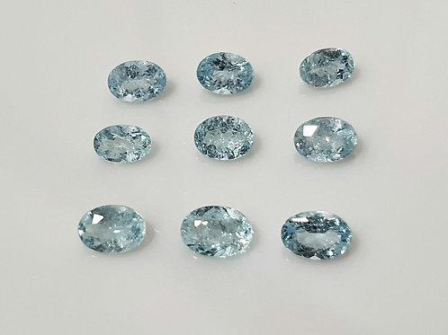 US $300 /CT, 9/1.46 carats Paraiba Tourmaline