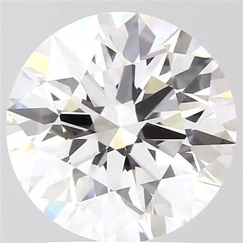 3.01 CT, F COLOR, VVS2, LOOSE DIAMOND GIA CERTIFIED, 3EX, NONE