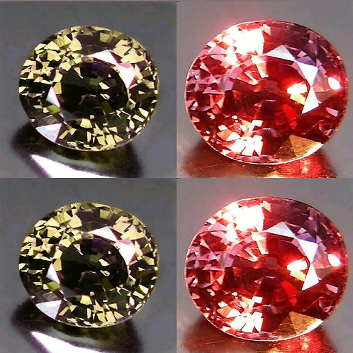 2.17 ct Natural Color Change Garnet loose gemstone