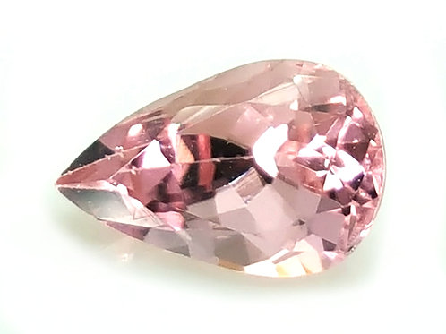 Natural Mahenge Spinel Pink loose stone pear from Tanzania