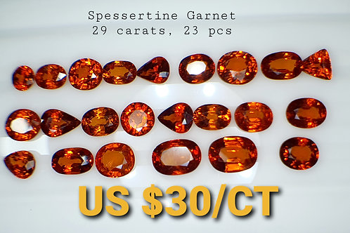 29 Ct Natural Spessartite Garnet  loose stone