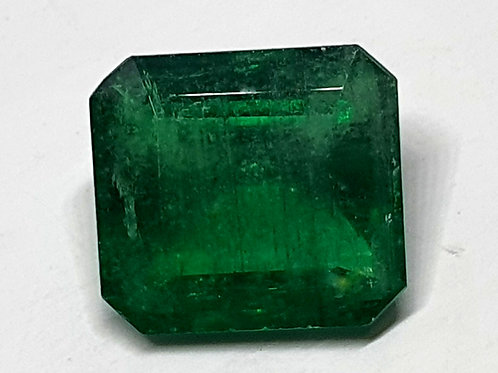 US $390 P/C, 4.8 Cts ct Natural Emerald vivid green very clean gem for ring