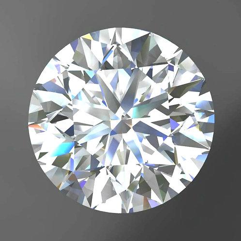 GIA DIAMOND 5.01 CT, G, VVS1, VG, EX, NONE