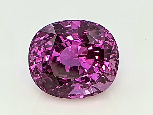 5.61 ct GIA Certified Pink Sapphire from Madagascar